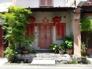 chinese doorway Melaka