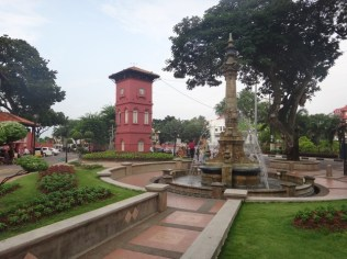 Queen Victoria's fountain in the dutch square Melaka
