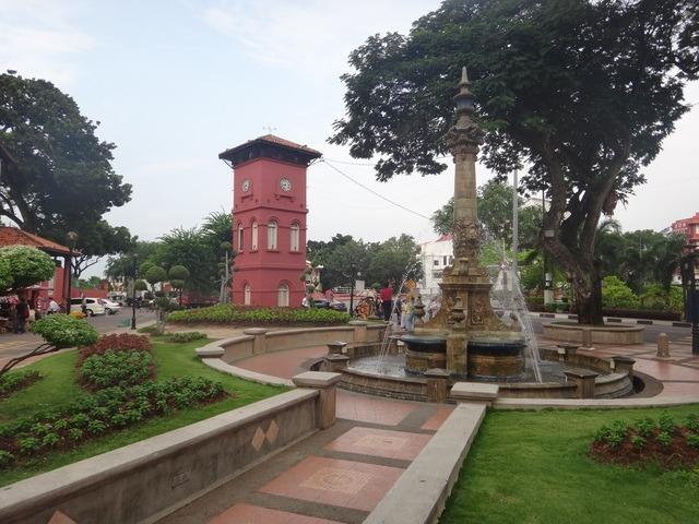 Queen Victoria's fountain in the dutch square Melaka