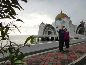 Tanya and Andrew and the Mosque
