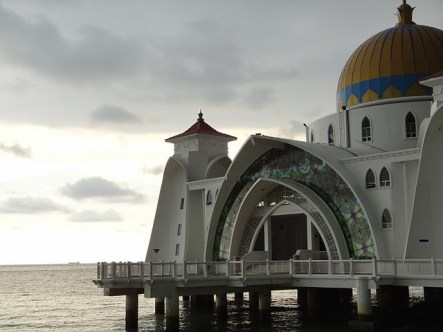 The Melaka Mosque and Sunset 2