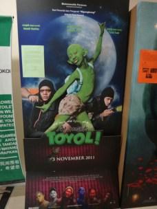 creepy movie poster Melaka