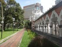 path around Masjid Jamek in Kuala Lumpur