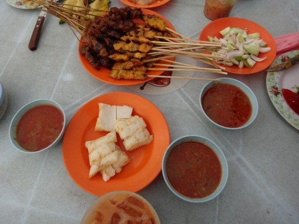 you cant go to Malaysia and not have satay