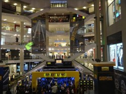 yet another massive shopping center in Kuala Lumpur