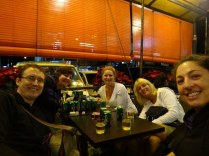Our new Dutch friends - Pauline, Nadine and Jet