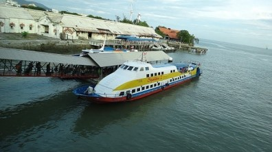 The ferry from Penang to Langkawi