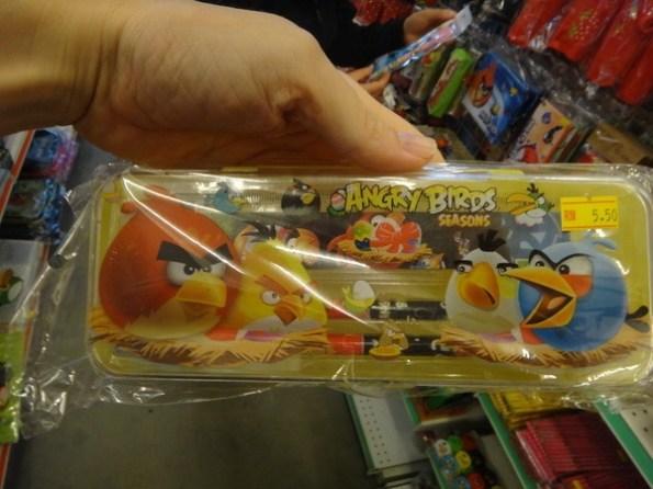 angry birds pencil box