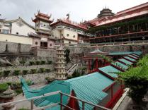 covered walkway at Kek Lok Si Temple Penang