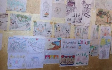 Ban Bom Village - School Kids Artwork
