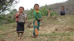 Hintang Archeological Park - The Local Children