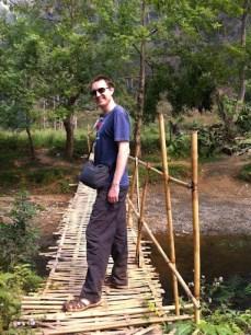 Nong Khiaw - Pathok Caves - Bridge Crossing