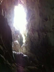 Nong Khiaw - Patok Caves - Sun Shining Through