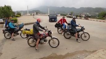 Sam Neua - Boys Riding Laos