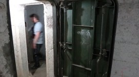 Vieng Xai - Communist Caves - Metal Doors To Keep You In and Them Out