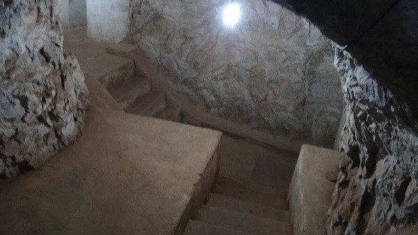 Vieng Xai - Communist Caves - Stairs To Somewhere
