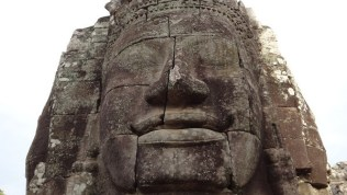 A Stone Smile At Angkor
