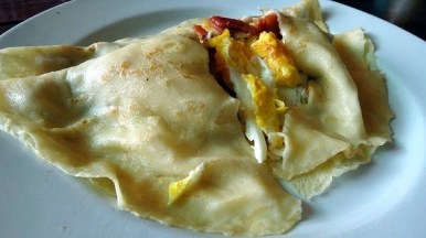 Star Rise Restaurant - Bacon and Eggs Crepes