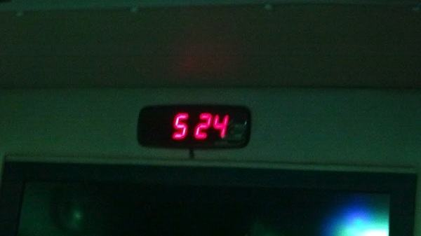 Vientiane to Bangkok - Bus Finally Arrives in Bangkok at 5.24am