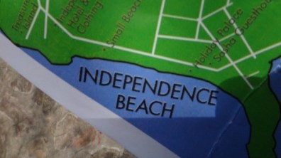 Independence Beach, Sihanoukville - Map