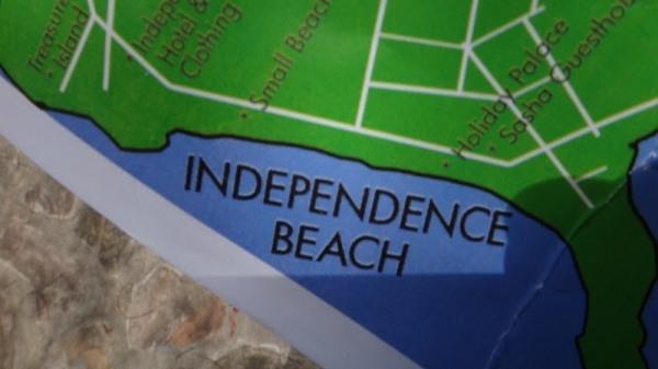 Independence Beach, Sihanoukville - Map