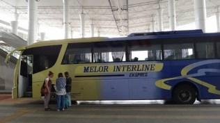 Melor Interline Ekspres - The Bus We Took From Melaka To Kuala Lumpur