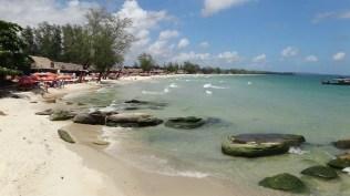 Ocheuteal Beach, Sihanoukville - Blue Waters