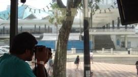 Taking Photos On The Bus Kuala Lumpur