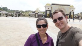 Tanya and Andrew At The National Palace Kuala Lumpur