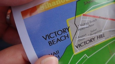 Victory Beach, Sihanoukville - Map