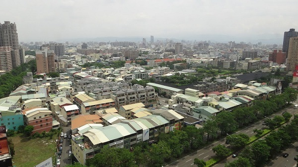 Taichung From Above
