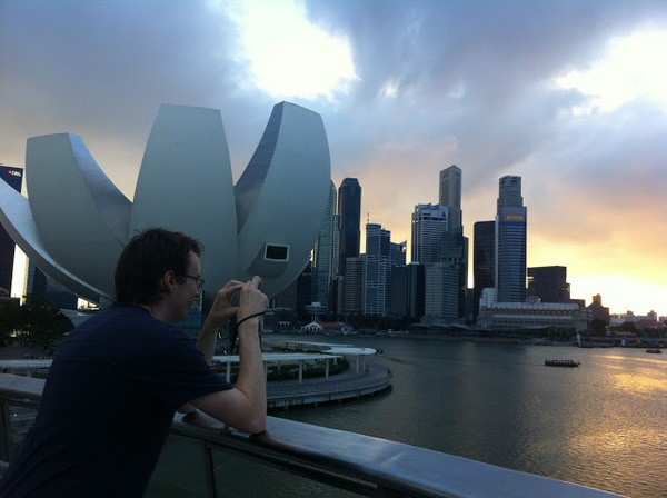 Andrew and Singapore
