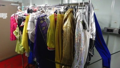 Backstage At The Theatre Wardrobe Changes