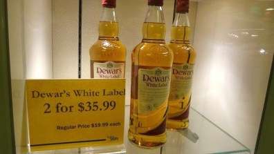 Dewar's White Label Booze For Sale
