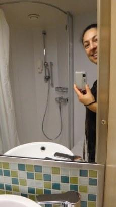 Oceanview Stateroom - Shower