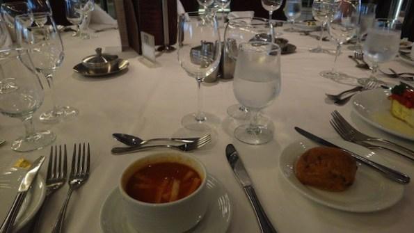 Romeo and Juliet Main Dining Hall Night 1 Menu - Sopa de Tortila