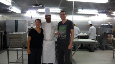 The Head Chef and Us - Royal Caribbean Legends Of The Sea