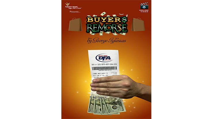 Buyer's Remorse (Gimmicks and Online Instructions) by Twister Magic - Trick