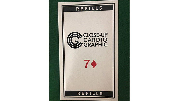 7D Refill Close-up Cardiographic by Martin Lewis - Trick