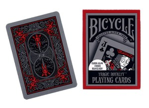 Cards Bicycle Tragic Royalty USPCC