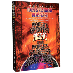 Torn And Restored Newspaper (World's Greatest Magic) video DOWNLOAD