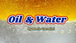 Oil & Water by Mario Tarasini video DOWNLOAD - Download