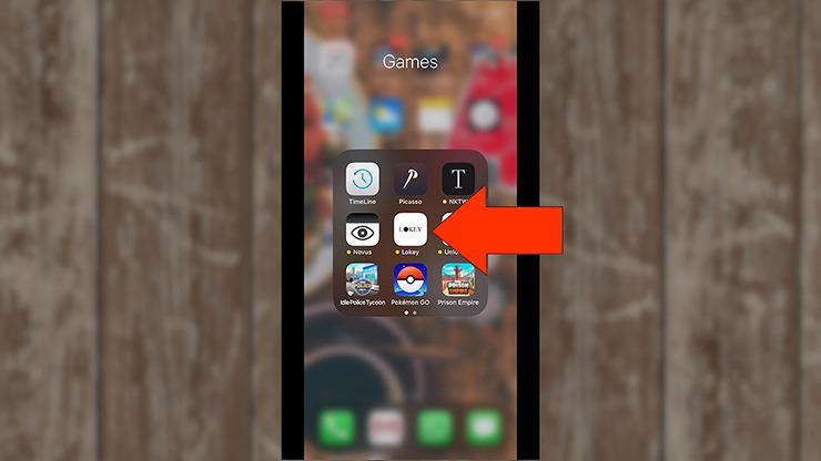 LoKey (In App Instructions) by Teguh