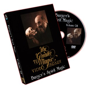 Eugene Burger's Spirit Magic Volume 24 by Greater Magic - DVD