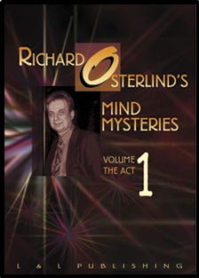 Mind Mysteries Vol 1 (The Act) by Richard Osterlind - DVD by L&L Publishing
