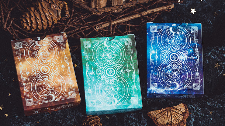 Solokid Constellation Series V2 (Gemini) Playing Cards by BOCOPO