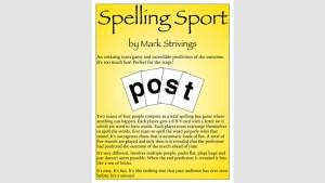 SPELLING SPORT STAGE by Mark Strivings