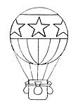 disegni da colorare - Categoria: mongolfiere - magiedifilo ...