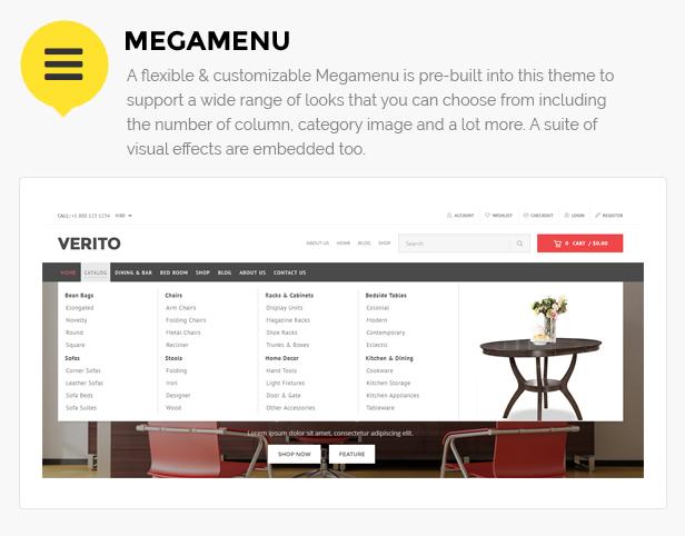 Furniture shop website shopify