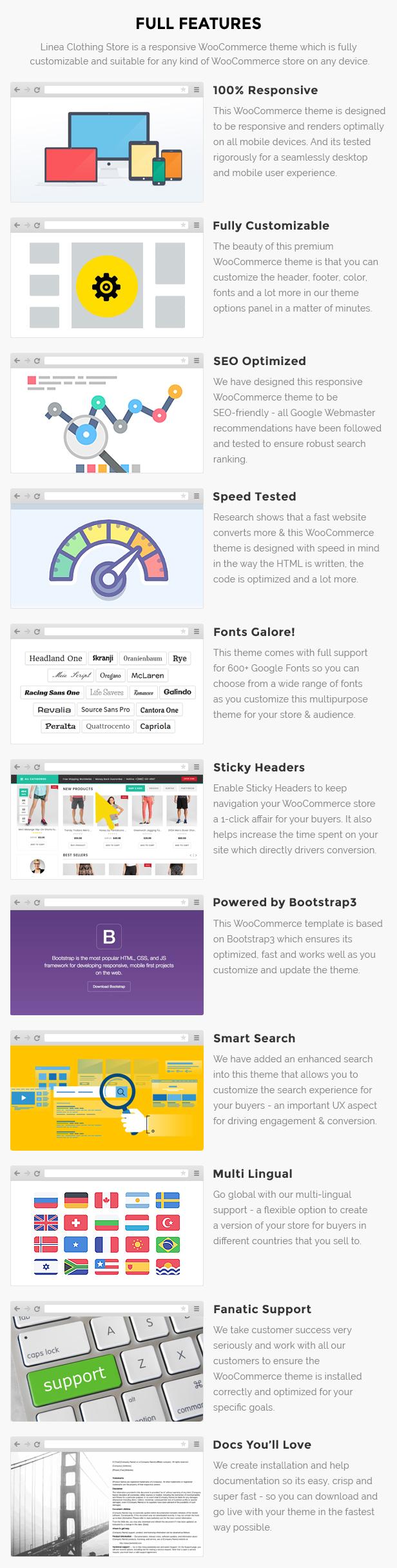 Clothing store website wordpress